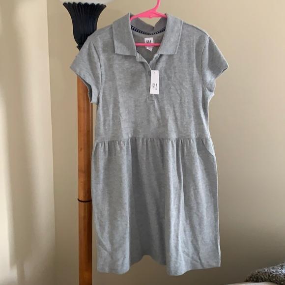 NWT cute Gap knit  polo dress, 8